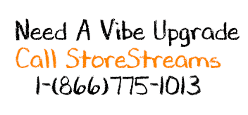 Get a Vibe Upgrade from StoreStreams at your restauranut